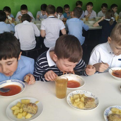 Школьная столовая - 1